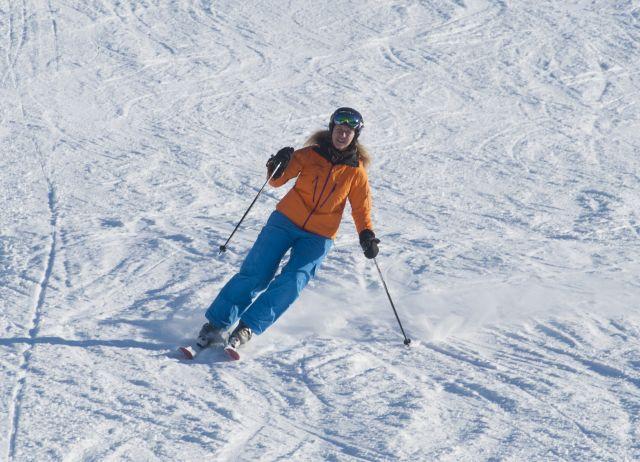 Augustusburg Winter Skifahren
