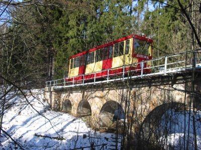 Winter Drahtseilbahn