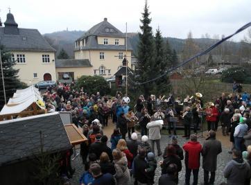 Erdmannsdorf Pyramidenfest