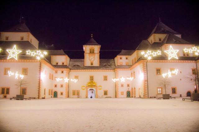 Augustusburg Schloss weihnachtlich