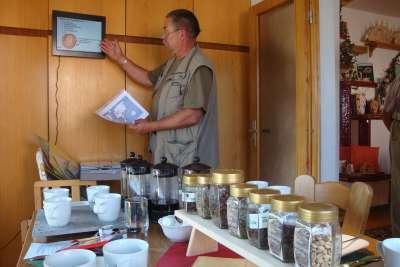 Augustusburg Hutzenwerkstatt Kaffeeseminar