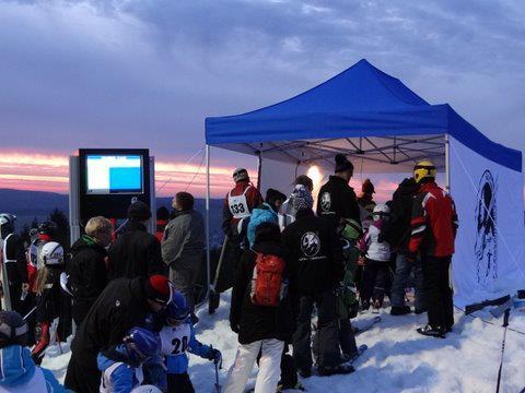 Augustusburg Rosts Wiesen Skiwettkampf