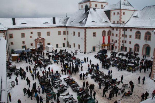 Augustusburg Schloss Wintertreffen