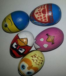 Augustusburg Eierrollen Eier