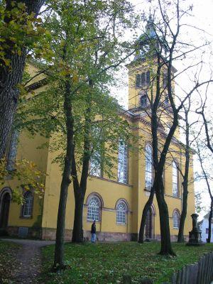 Augustusburg Stadtkirche St Petri