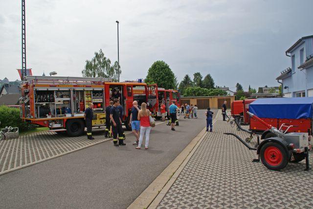 Augustusburg Feierwehr Tag der offenen Tür