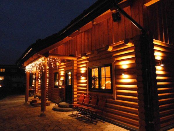 Erdmannsdorf Blockhauscafe Winter