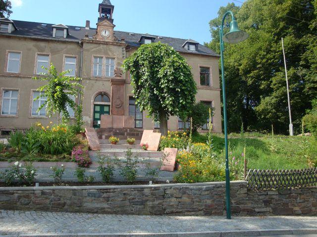 Kranzniederlegung in Grünberg › Stadt Augustusburg
