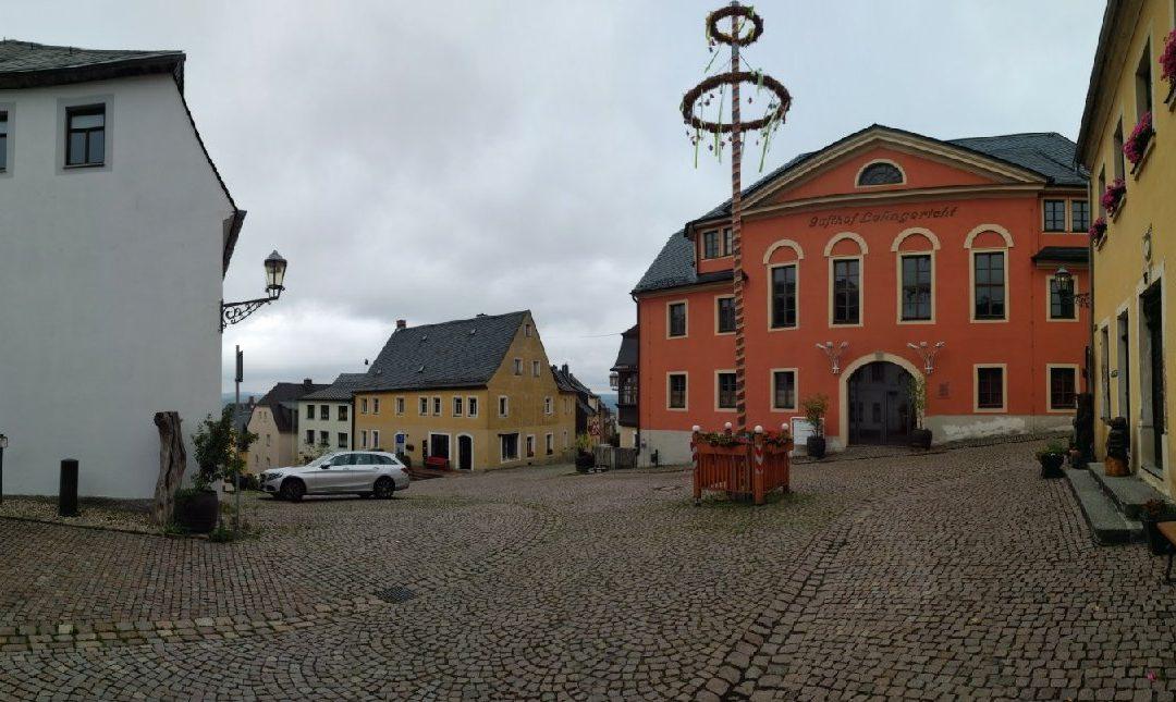 Umgestaltung der Altstadt Augustusburg beginnt
