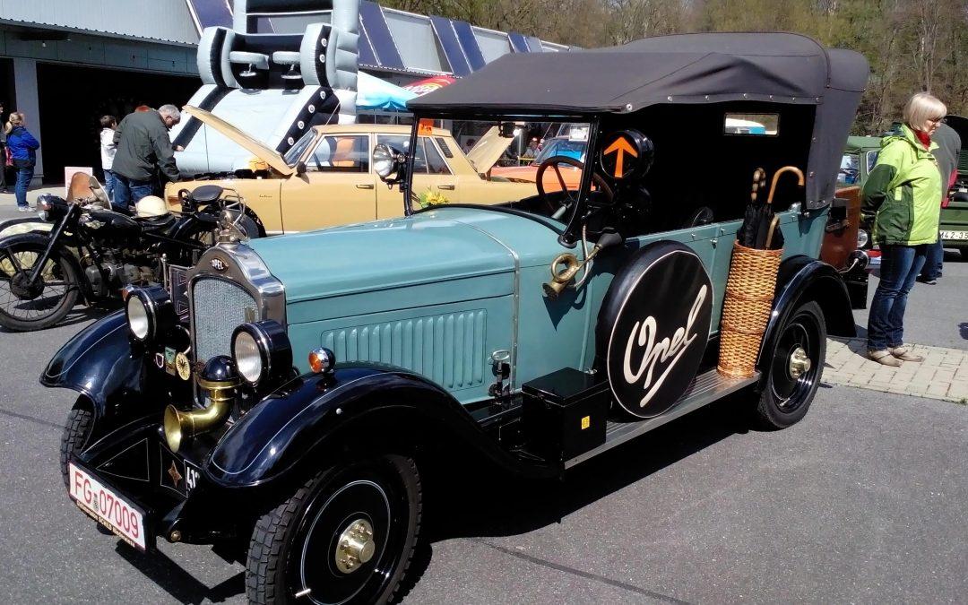 Ostercamp für IFA-Oldtimer-Fahrzeuge