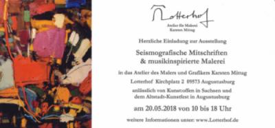 Seismografische Mitschriften & musikinspirierte Malerei