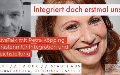 #LiveTalk: Petra Köpping im Gespräch