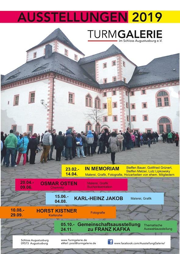 2019 Turmgalerie Veranstaltungen