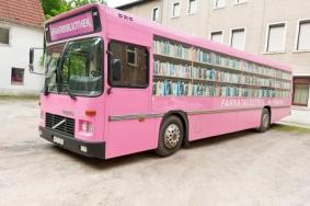 Mobile Bibliothek macht Halt