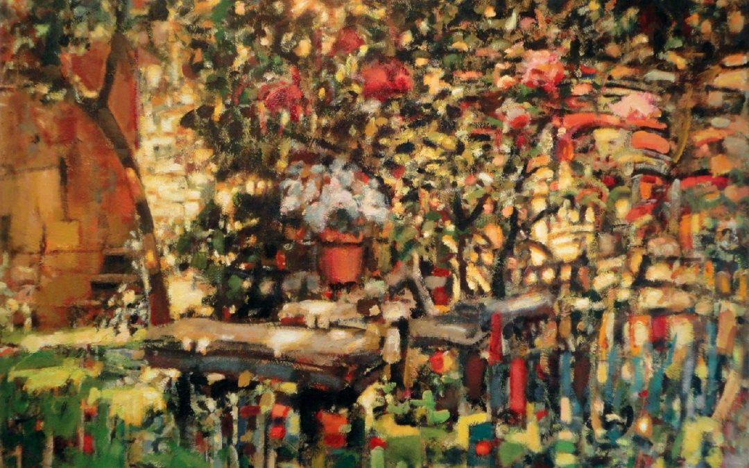 """Kunst:offen in Sachsen – Ausstellung """"Karsten Mittag – Refugien, Malerei"""""""