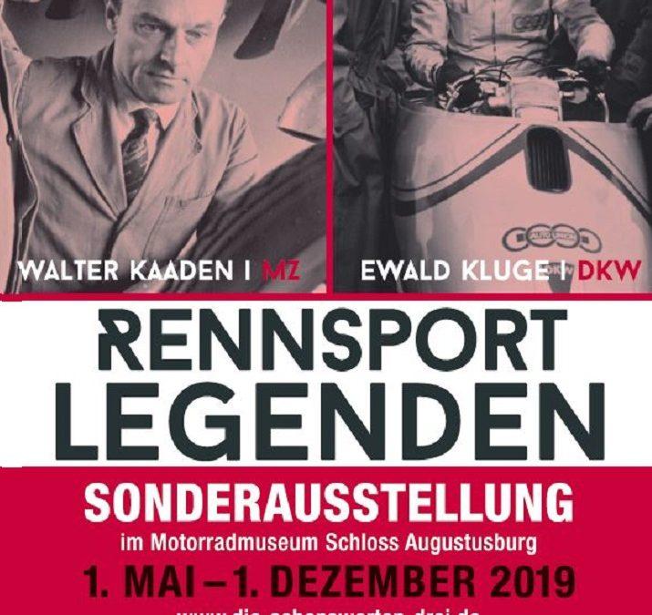 """Sonderausstellung """"Rennsportlegenden"""" im Motorradmuseum"""