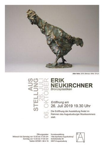 Ausstellung Bronzeplastiken und Reliefs