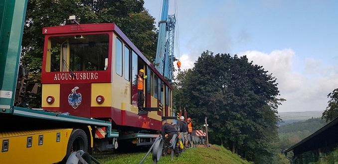 Drahtseilbahn geht auf Frischekur