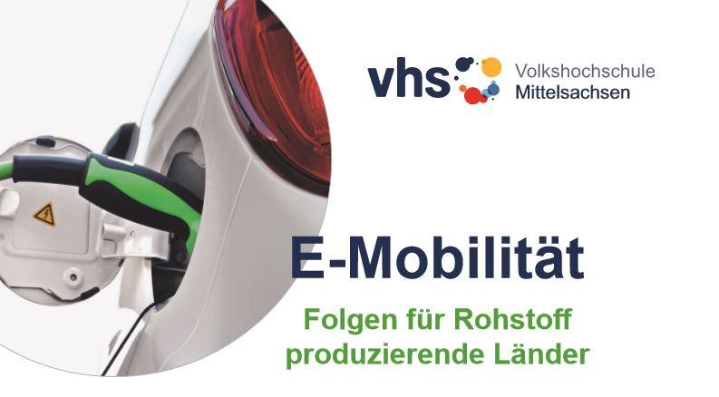 """Vortrag: """"E-Mobilität – Folgen für Rohstoff produzierende Länder"""""""
