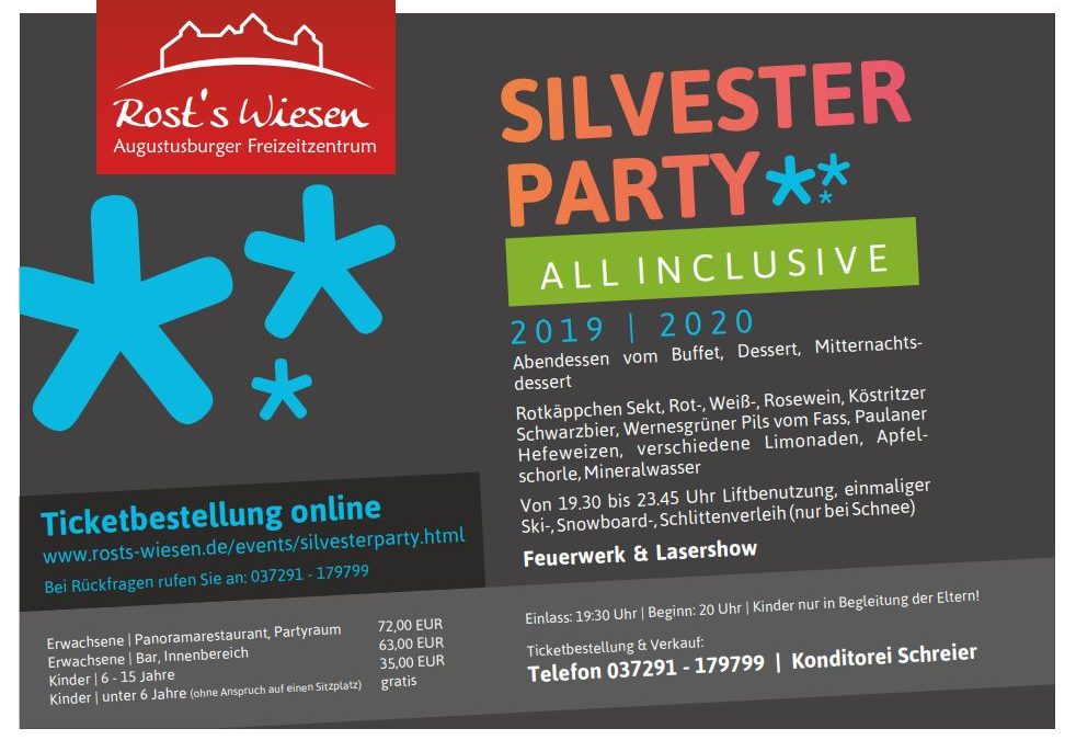 Silvesterparty all inclusive