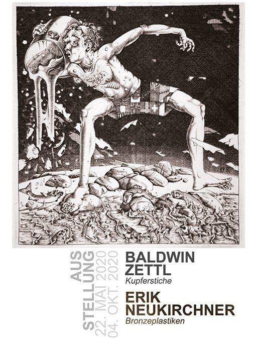 Ausstellung: Kupferstiche und Bronzeplastiken
