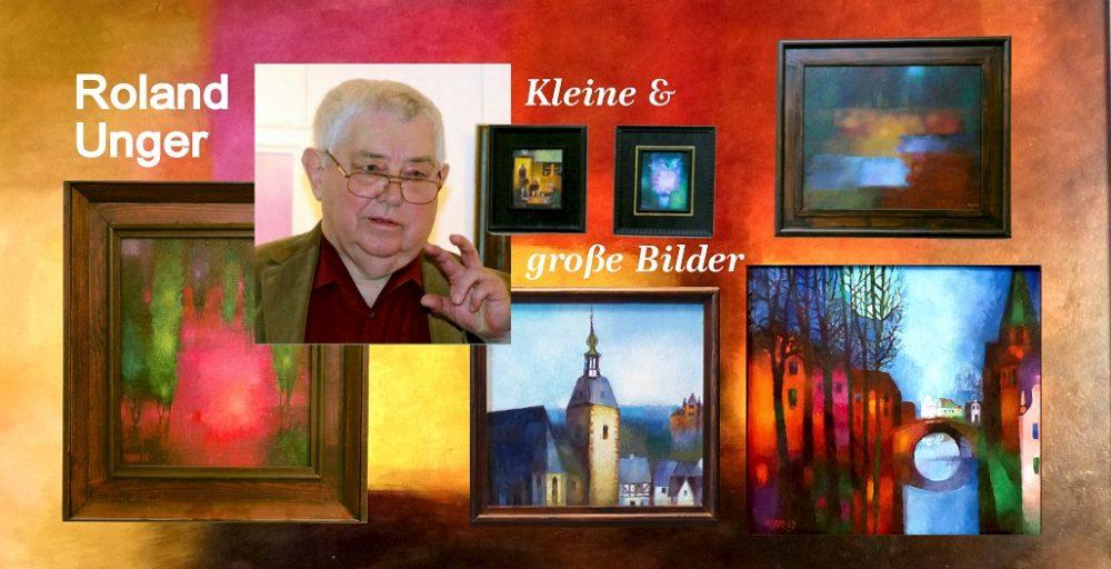 """""""Kleine & große Bilder"""" von Roland Unger"""