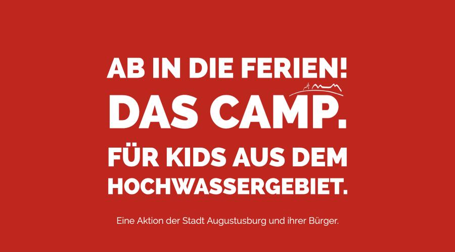 #KinderCamp für Hochwasserkids: In den Herbstferien geht´s los