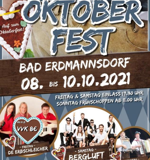 Oktoberfest in Erdmannsdorf